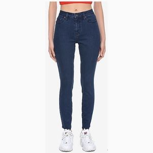 Blackheart High Waisted Skinny Jeans Junio…